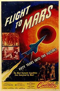 Flight to Mars (1951) Movie Poster