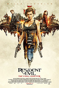 Resident Evil: The Final Chapter (2016) Poster