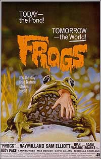 Frogs (1972) Movie Poster