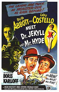 Abbott and Costello Meet Dr.Jekyll and Mr.Hyde (1953) Movie Poster