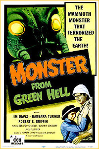 Monster from Green Hell (1957) Movie Poster
