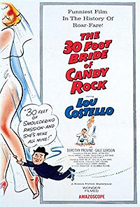 30 Foot Bride of Candy Rock, The (1959) Movie Poster
